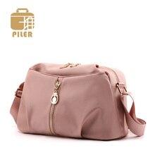 Piler Waterproof Female Crossbody Bag Small Handbag Nylon Women Luxury Shoulder Lady Party Purse Designer Messenger