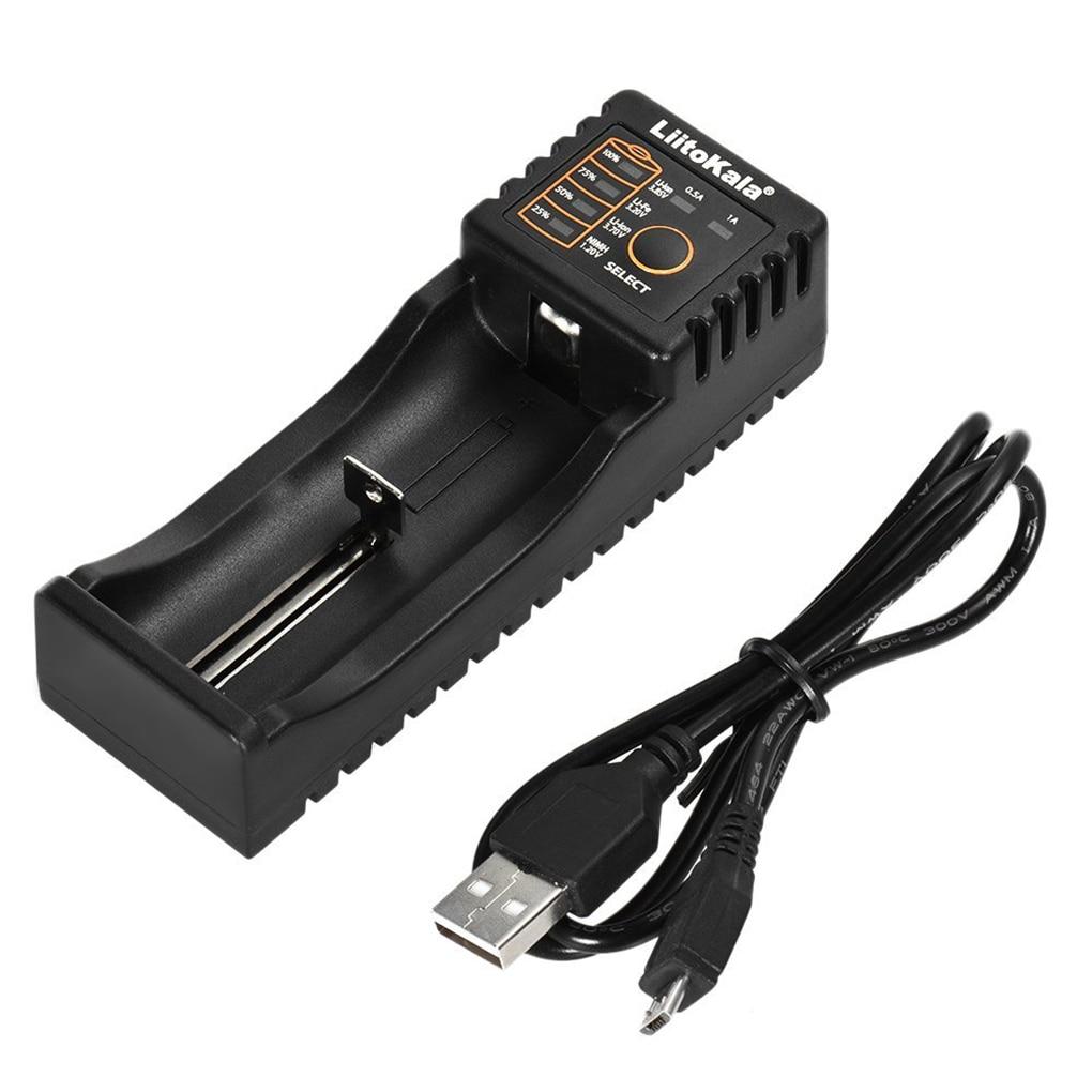 High Quality Liitokala Lii-100 Battery Charger for 18650 26650 4.35V / 3.2V / 3.7V / 1.2V Rechareable Battery