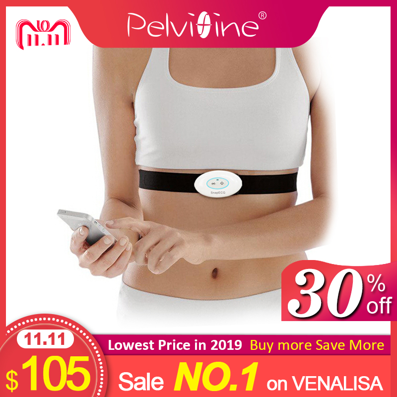 Wireless Portable wearable EKG Monitor Measurement Machine activity tracker ecg heart Support Electrode Holter For Android IOS