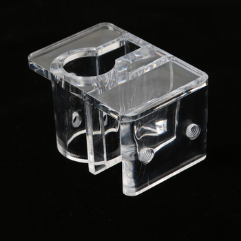 Acrylic Fish Tank Pipe Clip Clamp Holder Fix 12mm/16mm Inflow Outflow Water Hose Tube image