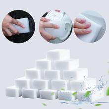 20 шт меламиновой губки волшебная губка высокой плотности в форме ластика для очистки губки для посуды Кухня инструменты для уборки ванной к...