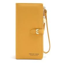 Wallet Ladies Purse Women Clutch-Bag Card-Holder Wristband Phone-Pocket Zipper HOT Long