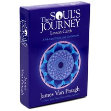 NEWEST 44pcs The Soul's Journey Lessons Tarot Cards Mysterious Fortune Tarot Cards Game For Divination Fate Unicorn Oracle Cards