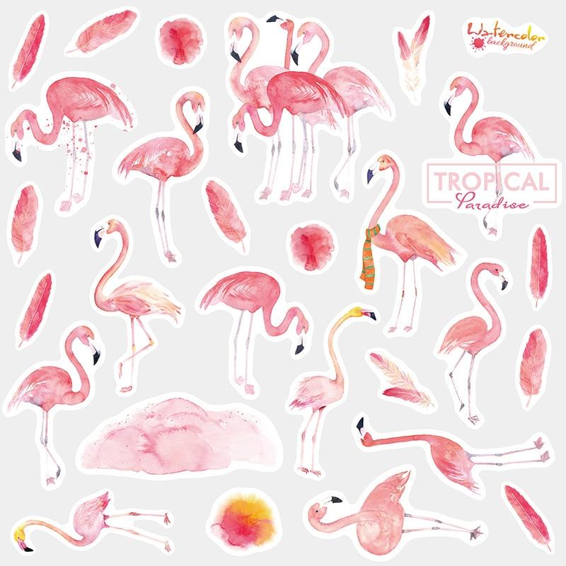 Japon günlüğü benim Melody dergisi Flamingo Unicorn köpek sevimli çıkartmalar Scrapbooking kırtasiye gevreği öğretmen malzemeleri