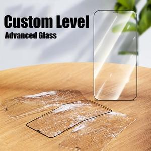 Image 4 - زجاج حماية على آيفون 6 7 8 Plus XR X XS زجاج غطاء كامل آيفون 11 12 برو ماكس حامي شاشة صغير الزجاج المقسى