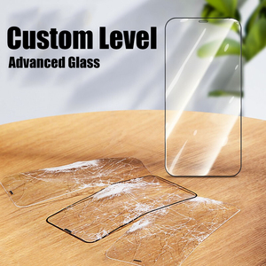 Image 4 - Protective Glass on the For iPhone 6 7 8 Plus XR X XS Glass Full Cover iPhone 11 12 Pro Max Mini Screen Protector Tempered Glass