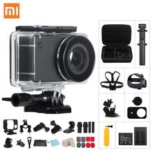 "Экшн-камера Xiao mi jia mi 4 K/30FPS Ambarella A12S75 Smart mi ni Sports Cam EIS WiFi 2,"" с сенсорным экраном видеокамера"