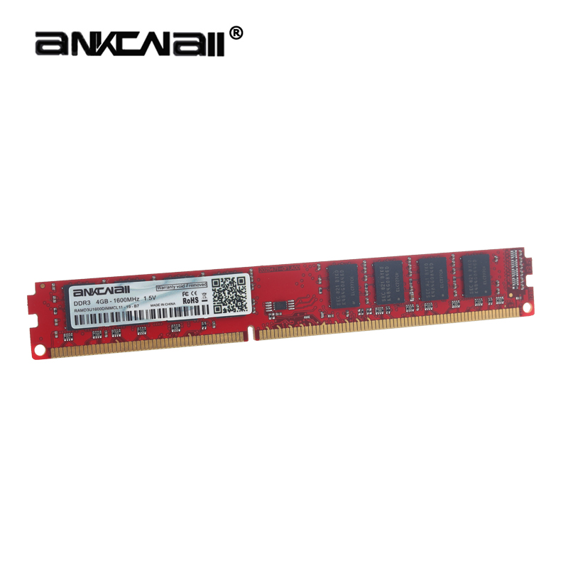 ANKOWALL DDR3 Desktop RAM with 2GB/4GB Capacity and 1866MHz/1600Mhz Memory Speed 2
