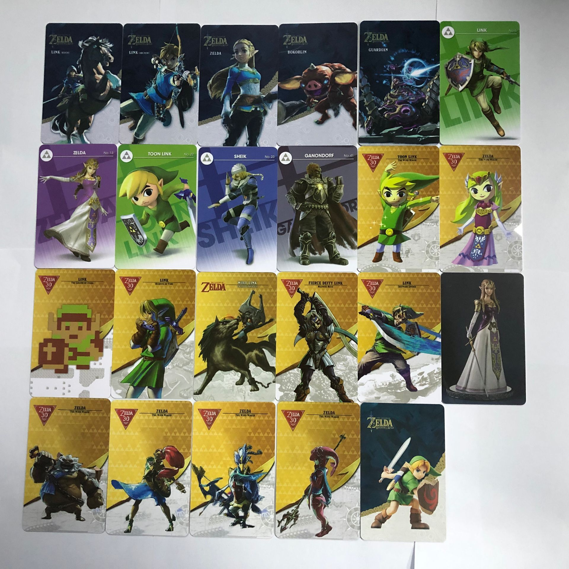 NFC Game Cards for NIntendo Switch for the Legend of Zelda BotW Special Gift 23pcs/set-in Access Control Cards from Security & Protection
