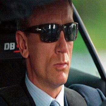 Homens marca designer polarizado condução óculos de sol missão impossible4 tom cruzeiro james bond óculos de sol masculino