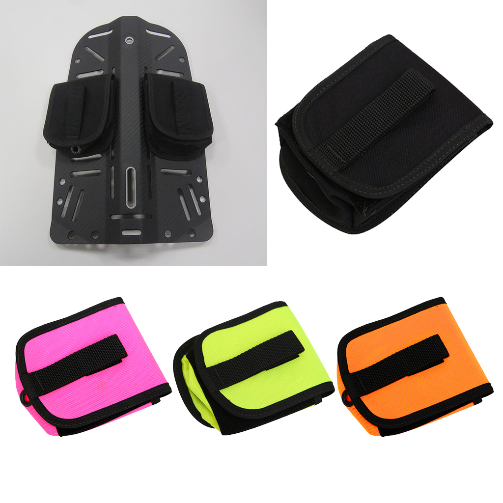 Durable Scuba Weight Pocket Lead Holder Backplate 2kg Pouch Belt Bag Pack