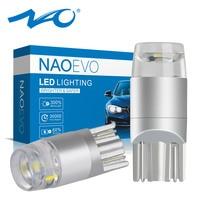 NAO t10 LED Ampoule w5w LED Voiture DRL 3030 SMD 194 168 COB Feux de Gabarit Lecture Intérieur Lampe 12V 6000k Blanc Jaune Rouge