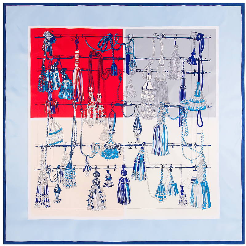 130cm nova sarja lenço de seda design de moda xadrez bandana impressão de corrente de cavalo cachecol de inverno marca de luxo lenços de seda xales femininos