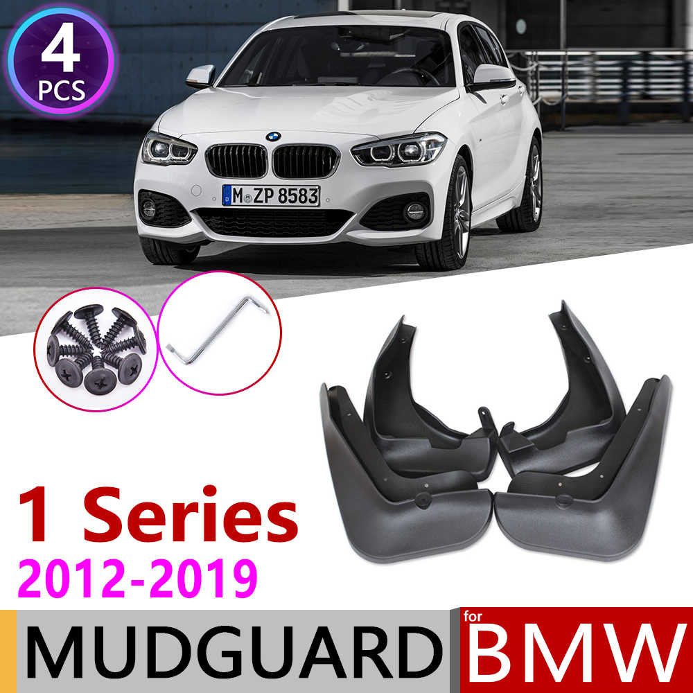 Coche Mudflap para BMW serie 1 F20 F21 2012 ~ 2019 guardabarros barro guardia Splash solapas guardabarros 2013 accesorios 2014 2015, 2016, 2017, 2018