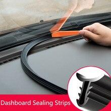 Звукоизоляционные уплотнительные полосы для приборной панели автомобиля для Kia Rio K2 Sportage Soul Mazda 3 6 CX-5 Lada Skoda Octavia Superb Yeti