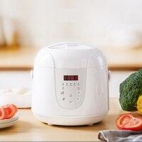 Многофункциональный 2L мини риса Плита 220V 400W Smart Home Кухня Электрический Еда горшок 24 часа в сутки назначения для 1-3 человек