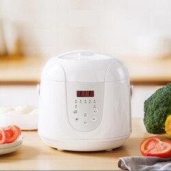 Multifunctionele 2L Mini Rijstkoker 220V 400W Smart Home Keuken Elektrische Stoomkoker Pot 24H Afspraak voor 1 3 mensen-in Rijstkoker van Huishoudelijk Apparatuur op