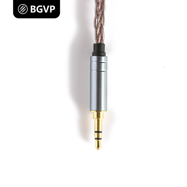 Bgvp OC1 6N single crystal copper 8-core 2.5mm balanced 4.4 fever MMCX headset upgrade cable earplug 2