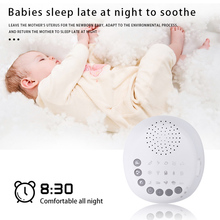 Умный домашний музыкальный измеритель времени сна светящийся USB белый шум машина натуральный звук портативный успокаивающий звук детский помощник