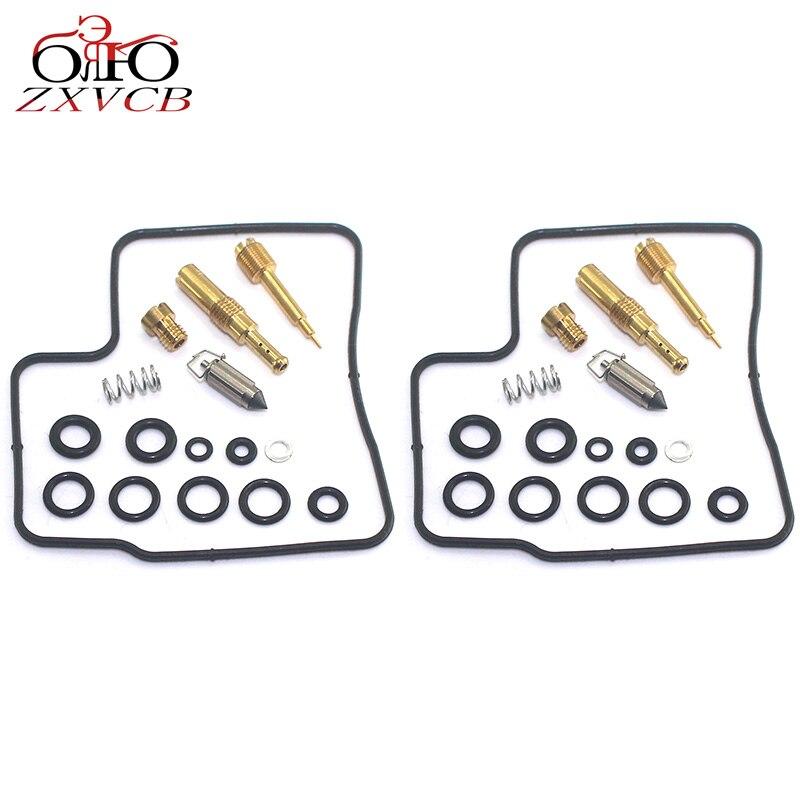2set for Shadow VLX600 VT600CD VT600C Deluxe VLX VT 600 VT600 C CD Motorcycle engine carburetor repair kit air screw parts(China)