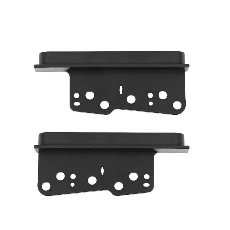 2pcs Car Dash DVD Player Left And Right Frames Trim ABS Plastic Molding Connector Perfect Match For Toyota Mr2 Spyder 2000-2005