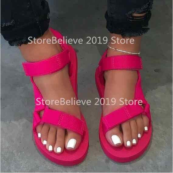 Signore ciabatte da spiaggia all'aperto MS 2020 nuove donne primavera/estate new soft-slip antiscivolo sandali schiuma suola resistente sandali