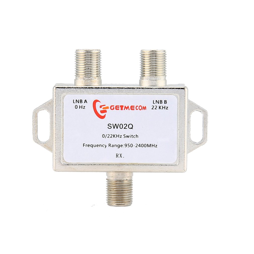 0/22Kz Satellite Signal Switch 22K 2 Cut 1 Two In One Out JS- SW02Q With Nickel-plated Finish Professional Line