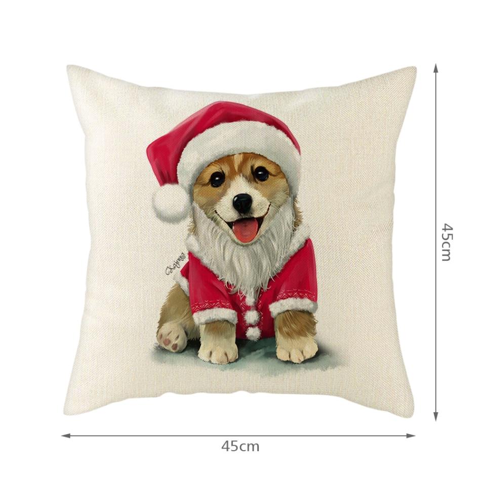 Купить nanacoba счастливого рождества чехлы с рисунком собачки и котика