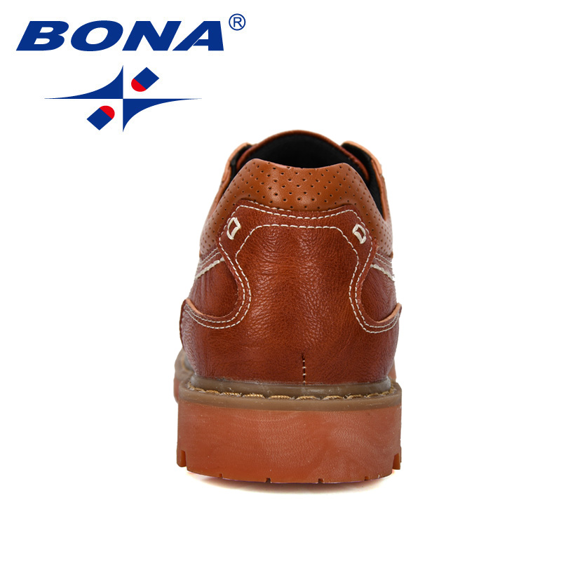 Image 2 - BONA 2019 New Designer Luxury Fashion Wedding Business Shoes Men Oxford Dress Shoes Men Formal Shoes Man Working Shoes Male-in Oxfords from Shoes