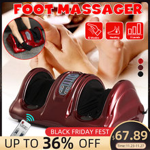 110/220V Electric Heating Foot Body Massager Shiatsu Kneading Roller Vibrator Machine Reflexology Calf Leg Pain Relief Relax