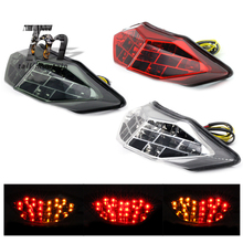 LED Tail Brake Light Turn Signal For KAWASAKI Z250 Z300 NINJA 250/300 2013-2017 14 15 16 Motorcycle Integrated Blinker Lamp motorcycle rear tail light brake signals led integrated lamp smoke light for ninja300 ninja 300 300r ninja300r 13 14 15 16