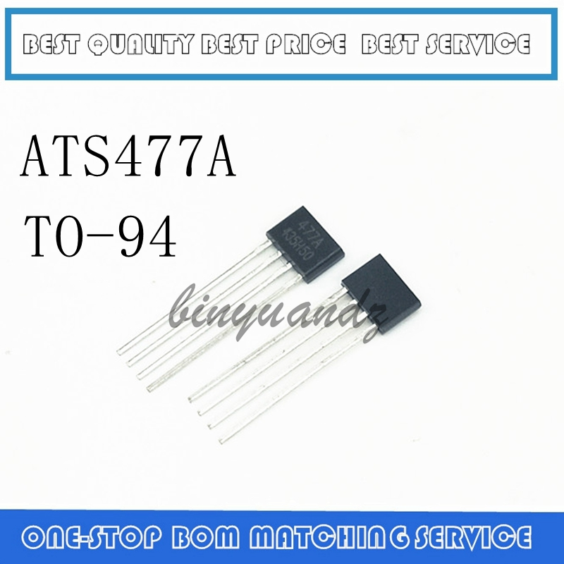 10PCS  NEW ATS477 AH477 FS477 ME1477 MARKING 477 477A SIP-4 IC