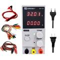 LW 3010D DC источник питания 30 в 10 А красный 4-значный дисплей мини лабораторный источник питания регулируемый 110 В 220 В для ремонта телефона компь...