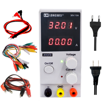 LW 3010D DC Power Supply 30V 10A Red 4 Digit Display Mini Laboratory Power Supply Adjustable 110V 220V For Phone Computer Repair sugon 3005d 30v 5a dc power supply adjustable 4 digit display laboratory power supply110 220v voltage regulator for phone repair