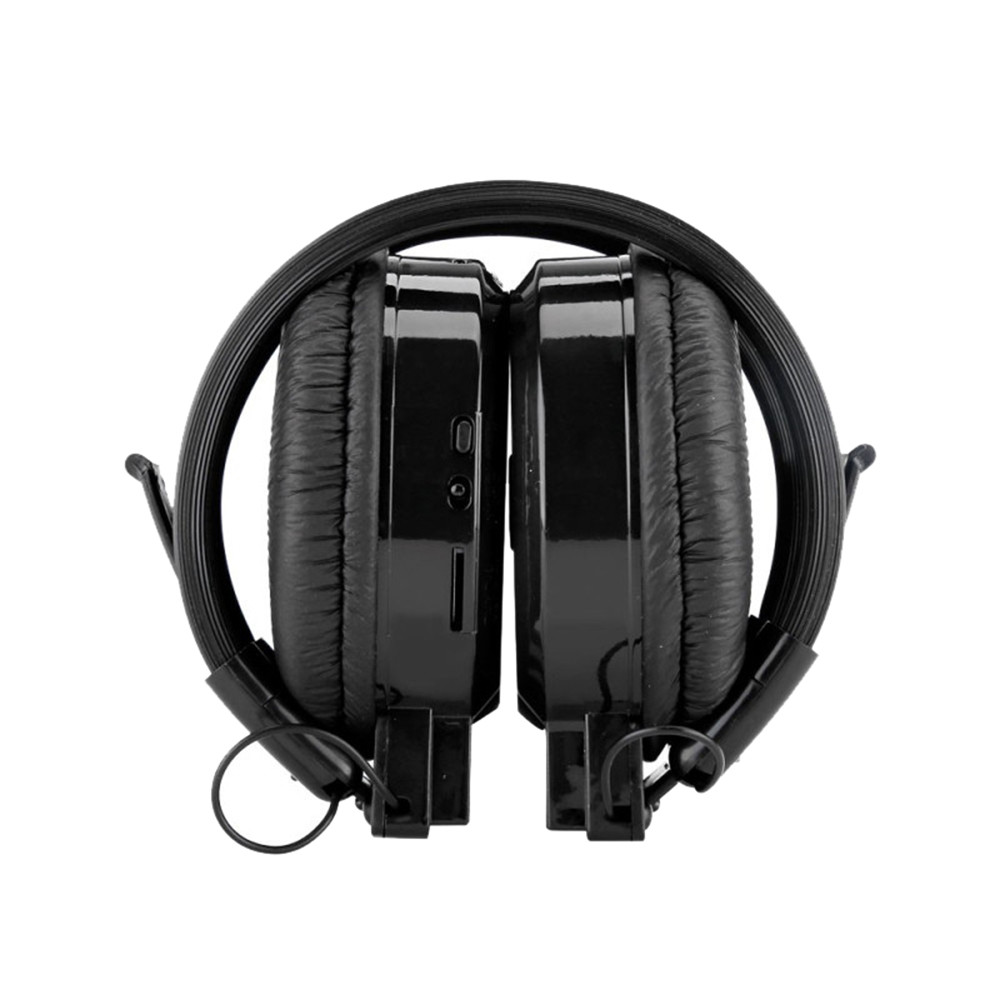 Foldable Sports Wireless Headset LED FM Radio Headphone Support TF Card#T2 1