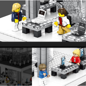 Image 4 - LED Light Creative Expert Series Street view Apple Store Building Blocks Fit Bricks Model Classic Phone Kids Toy Christmas Gifts