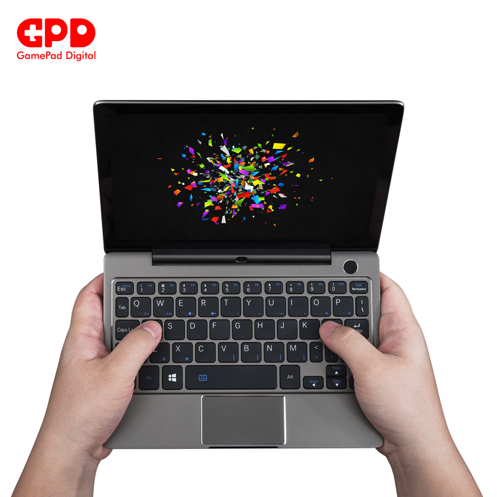 GPD P2 Max Gaming Laptop Ultrabook Computer Notebook DDR3 RAM 16GB  SSD 512GB 8.9 Inch 2K Touch Screen Intel Core m3-8100Y 2