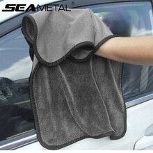 Detallado de coches Auto toalla accesorios de lana de Coral toallas para lavar coches mojado y seco Interior al aire libre cuerpo limpio de mantenimiento