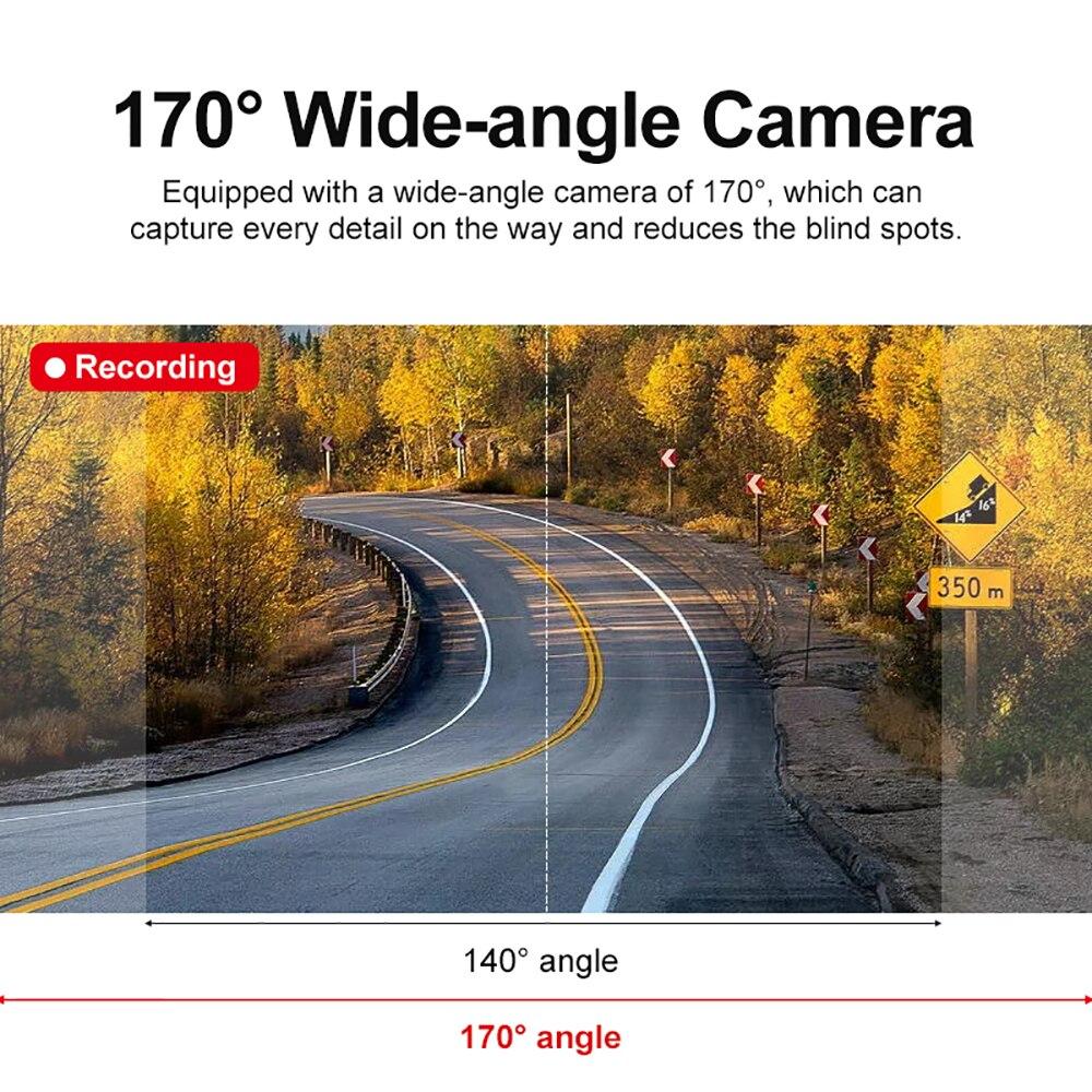 VicTsing Auto Nachtsicht Fahren Recorder HD 1080P Auto Fahren Dash Cam Video Recorder G-sensor Nachtsicht kamera Camcorder