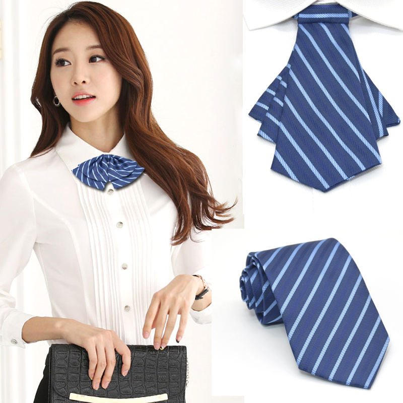 Pugmy Korean professional mens tie ladies bow bank hotel group tooling