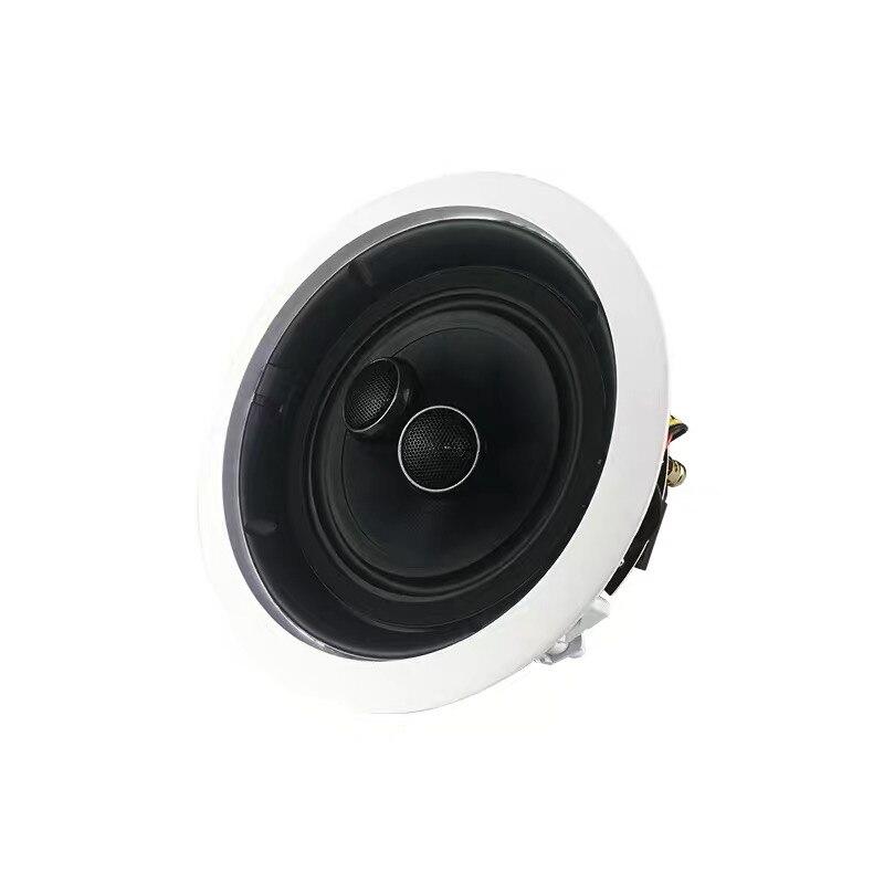 6,5 zoll VX6-C 10-100w stereo decke lautsprecher 205mm loch größe montiert in home audio hintergrund musik system Audio Lautsprecher