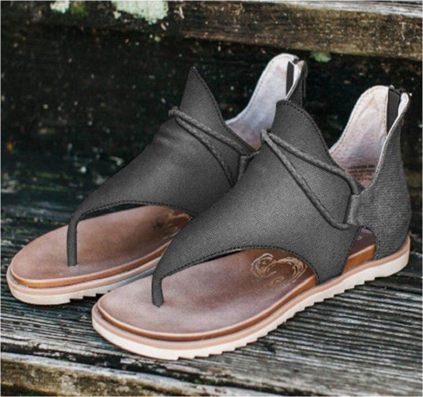 Sandals Women Leopard Print Women Shoes Platform Sandals Non-Slip Beach Woman Sandals Ladies Flat Shoe Sandalias Chaussure Femme