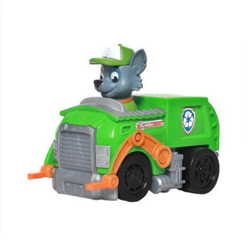 Paw Patrol, набор игрушек, собака Patrulha Canina, аниме, фигурка автомобиля, фигурки, украшения, игрушки для детей, подарки на день рождения 2D32 - Цвет: 5 no box