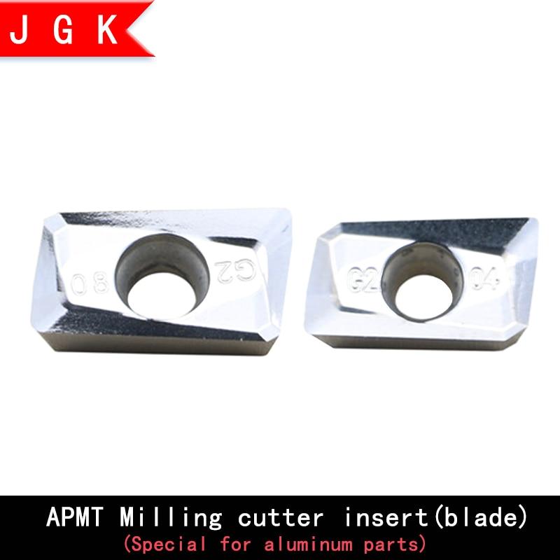 APMT1135 APMT1604 Carbide Blade APMT1135PDER APMT1604PDER Blade For Turning Aluminum Parts, Used For BAP300R Grinding Clip