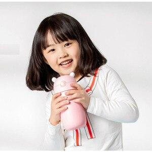 Image 4 - Xiaomi Mitu ילדי בידוד ואקום תרמוס מים כוס בקבוק נירוסטה אוניית 6 שעות בידוד נייד בטוח כוס