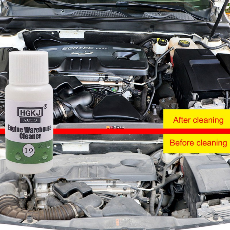 Hgkj Engine Compartment Cleaner To Remove Heavy Oil Automotive Cleaning Kits Decontamination Practical High Quality Durable 50ML