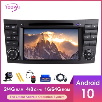 TOOPAI Android 10 For Mercedes Benz E-Class W211 E300 CLS W219 W463 Navigation GPS Multimedia Player Auto Radio Stereo Head Unit image