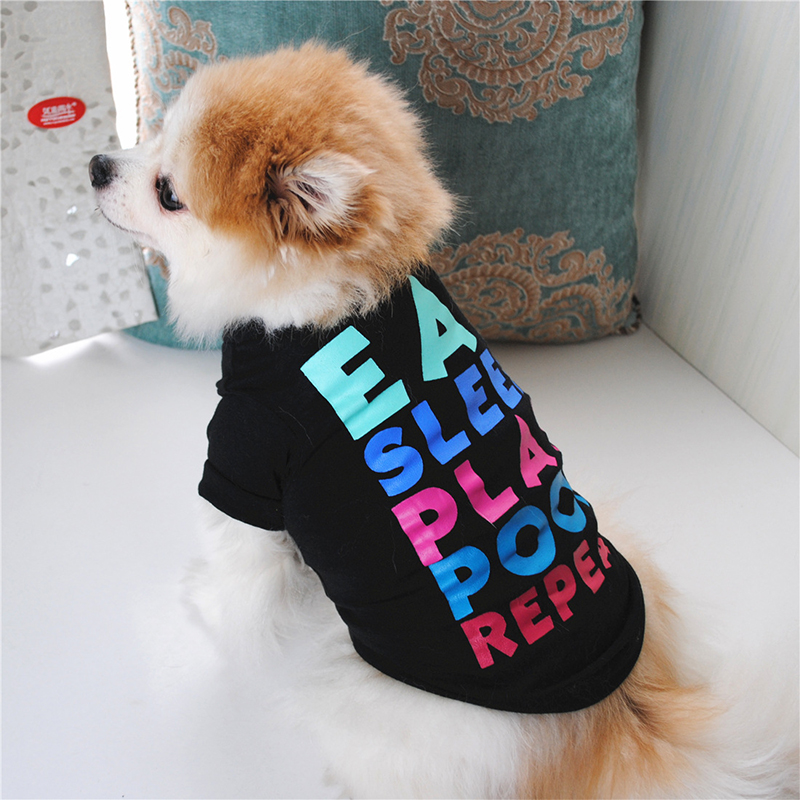 Cheap Dog Clothes Cute Dog Vest Shirt Pet Clothing for Dogs Costume Cotton Puppy Pet Clothes for Small Dogs Outfits Ropa Perro 11