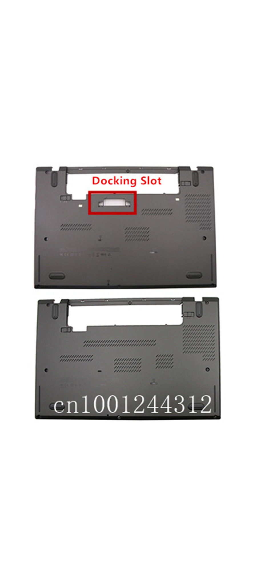 New Original For Lenovo Thinkpad <font><b>T440S</b></font> T450S Lower Bottom Base Case <font><b>Cover</b></font> w/Docking Slot 00PA886 wo/Docking Slot 00PA887 image