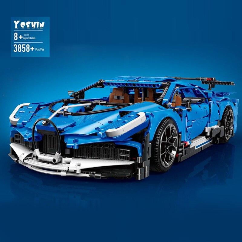 42083 velocidade azul modelo de carro de